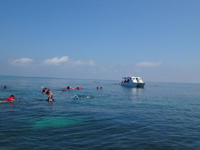 <马来西亚亚庇环滩岛浮潜之旅(含午餐)>
