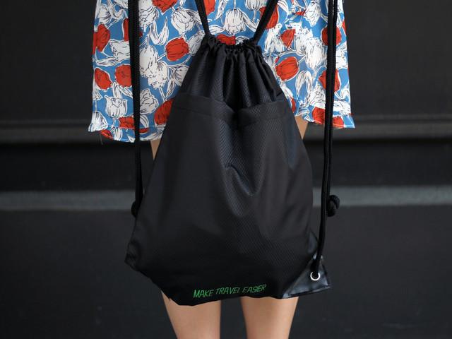 途牛束口双肩背包「 简单方便 携带轻松 易于收纳 时尚简约 」