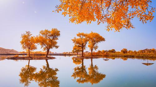 塔里木河胡杨林+库车天山奥秘大峡谷+吐鲁番+天山天池双飞8日游