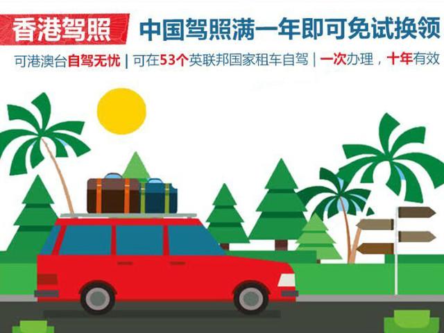 <中国驾照【免试换领】香港驾照 香港国际驾照IDP>全球自驾无忧  只差一本香港驾照  通行53个英联邦国家 一次办理十年有效