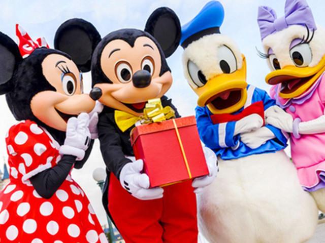 <日本东京迪士尼乐园1日票 可选陆地或海洋  >JR舞滨站取票