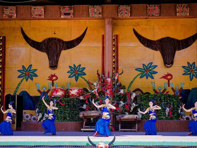 <北京北方西双版纳-呀路古1日游>天津汽车往返 赠送纪念美酒一瓶 观民族歌舞表演