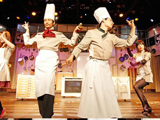 <【曼谷乱打秀Nanta Show门票】>情景喜剧 搞笑表演