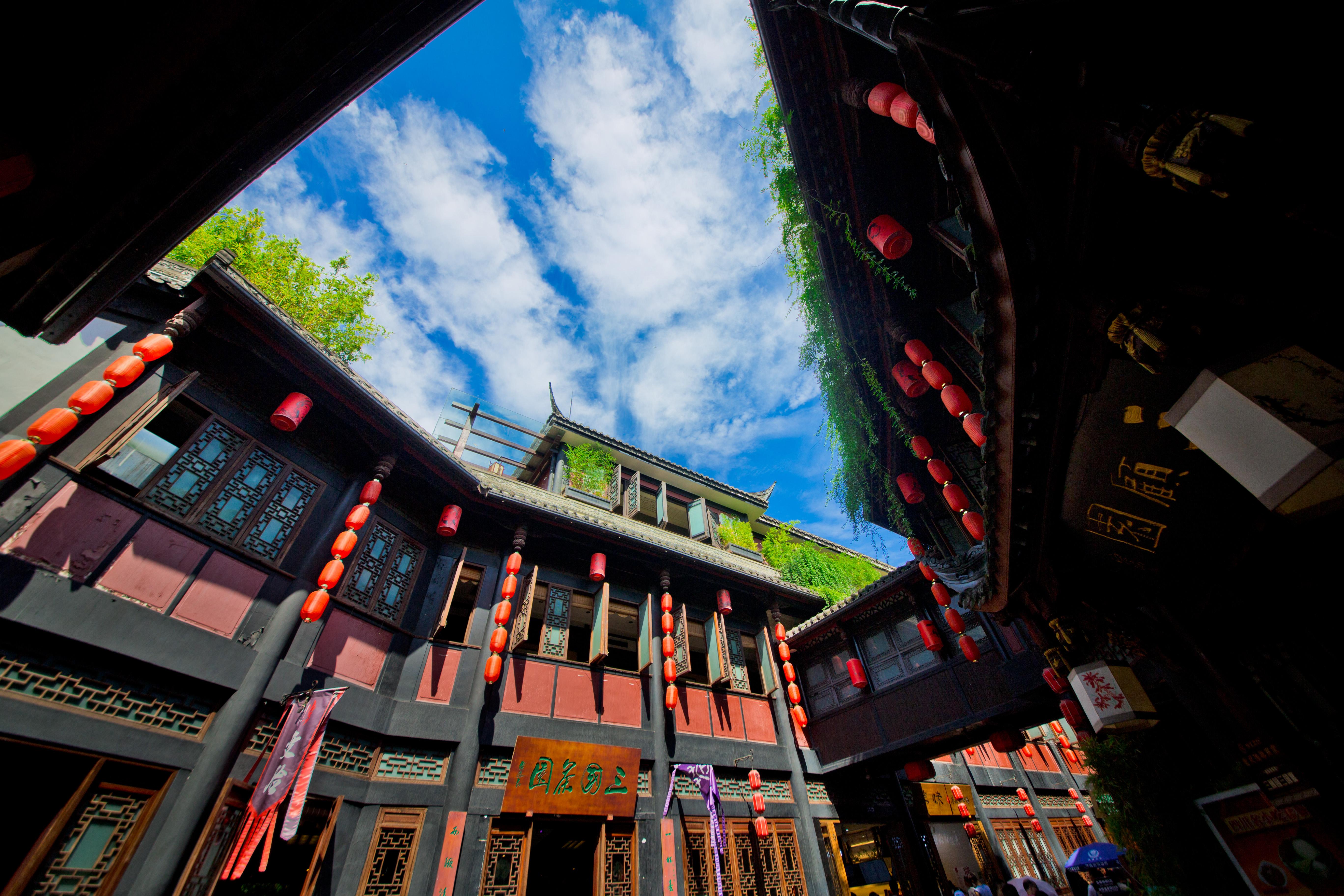 China ChengDu JinLi Ancient Street