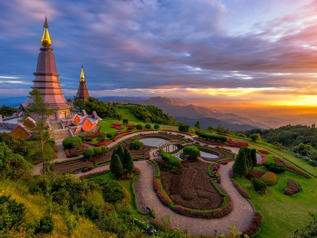 <泰国清迈茵他侬国家公园一日游【可选中文导游或英文导游】>