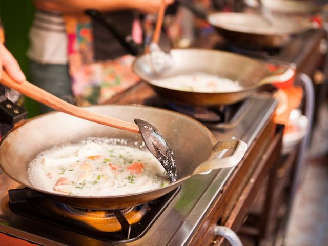 <泰国曼谷泰式料理烹饪课程(可选上午/下午/晚间课程)>