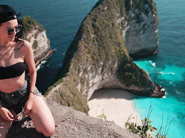 <巴厘岛旅游 蓝梦岛佩妮达岛一日游 >潜水浮潜海底漫步环岛游 恶魔眼泪 梦幻沙滩