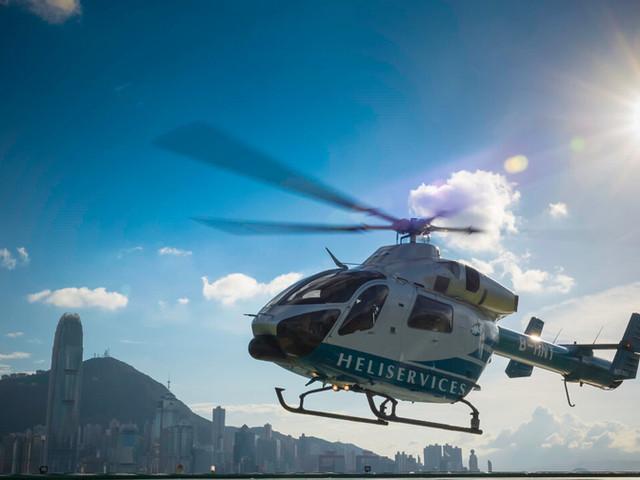 <【冲上云霄 圆您飞行梦】香港直升机维港巡游共享之旅(18分钟)>