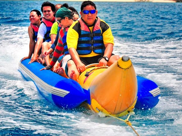 <【水上活动】长滩岛海上香蕉船>