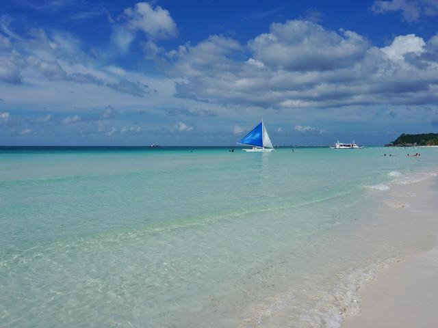 <长滩岛螃蟹船出海浮潜游+香蕉船+海底漫步一日游【可加拍酒店接送+自助BBQ午餐】>