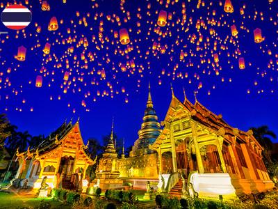 预售【全国受理】泰国旅游签证-贴纸签证-西安送签-出签顺丰包回邮-专属顾问1对1