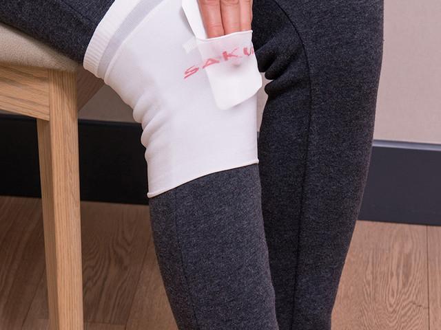 天津 樱之花热力贴护膝宝 促销装2包共12片赠护膝套1副