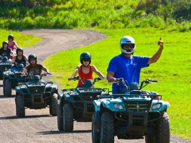 <美国夏威夷古兰尼牧场一日游含午餐>院内可 骑马 越野车 丛林探险 一次性玩过瘾 性价超高