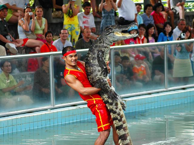 <泰国芭堤雅云石公园和鳄鱼农场门票(电子兑换凭证)>