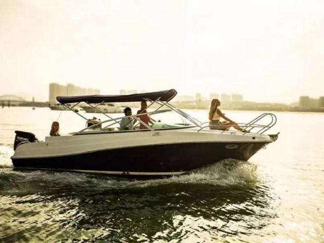 <家庭式出游优选 | 厦门五缘湾航通22S运动艇出海体验>【体验驾驶乐趣+出海远观金门】