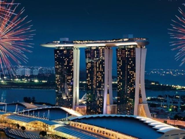 <【俯瞰狮城-新加坡滨海湾金沙酒店 网红无边泳池+空中花园门票】>(多套餐可选)