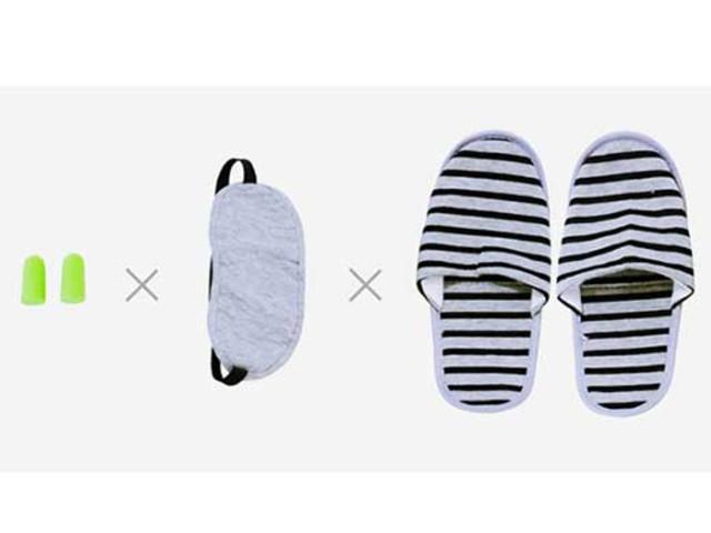 旅行三件套 拖鞋+眼罩+耳塞
