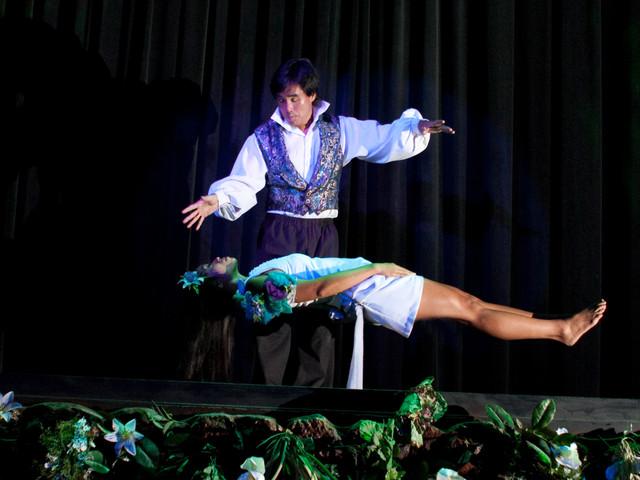 <美国夏威夷波利尼亚魔术秀表演>草裙舞晚宴