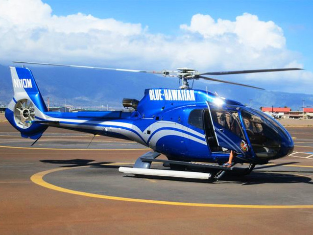 [春节]<美国夏威夷旅游大岛火山 Blue Hawaiian 直升机经典观光游>