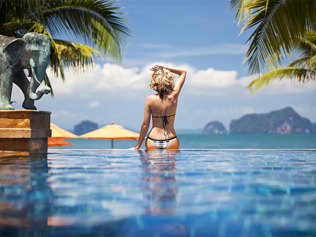 [端午]<泰国普吉岛4晚6日游>2人起订 8人小团 全程无边泳池酒店 铂尔曼+芭东索菲特 皮皮岛出海浮潜 网红餐厅 人妖秀VIP座