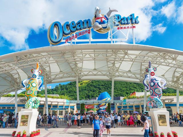 <香港海洋公园2日门票>全天畅玩海洋公园,含海洋奇观夜宿营,亲子帐篷露营,赠送澳洲历奇/雨林大步走,含2餐