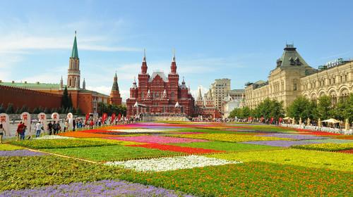 俄罗斯-莫斯科+圣彼得堡