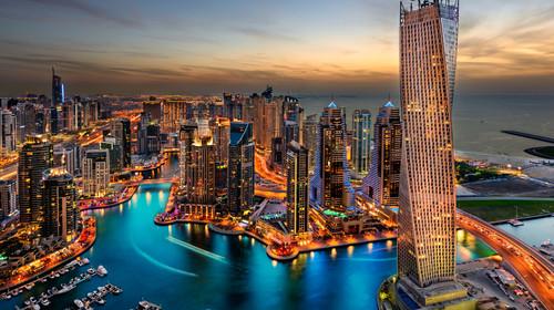 阿布扎比+迪拜机票+当地