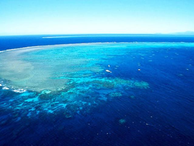 <澳大利亚凯恩斯冒险号绿岛大堡礁+诺曼外礁一日游>绝代双礁+可选30分钟小飞机观光+海底摩托+无证深潜+自助午餐(当地参团)