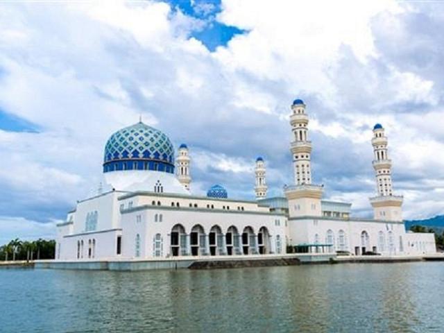 <马来西亚沙巴亚庇市区半日游 >水上清真寺+沙巴大学景点  KAWA红树林一日游