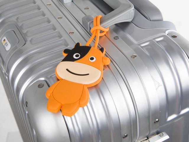 <途牛定制硅胶环保行李牌 经典吉祥物 Q萌升级 贴心玩伴>「 柔软硅胶 造型独特 醒目易识别 」