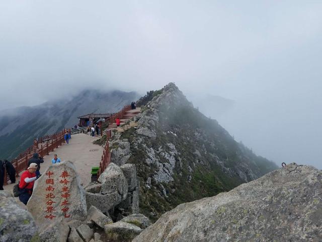 <中国陕西太白山国家森林公园一日游>乘天下索道,观太白绝景