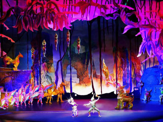 <【普吉暹羅繽紛Siam Niramit 夢幻劇場 門票】> 精美華麗,快速出票,驚艷舞臺效果,絢麗精彩的節目