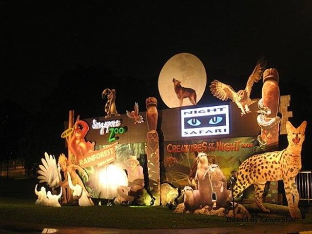 <新加坡夜间动物园门票【含动物园游览列车】>电子凭证