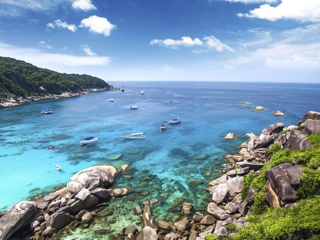 <斯米兰1日游>十大著名潜水圣地之一,1年开放6个月,白沙配湛蓝海水视觉震撼(当地参团)