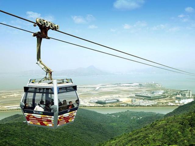 <香港昂坪360來回往返缆车电子票门票>极速出票 无需打印