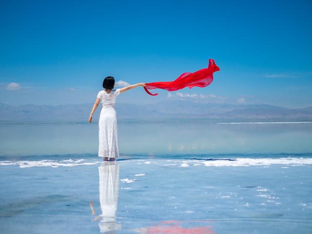 """[端午]<青海網紅打卡地""""茶卡鹽湖""""一日游 純玩無自費>帶著夢想去旅行"""