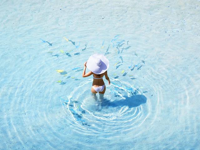 <沙巴环滩岛度假村潜水一日游>可选深潜,中文导游,两次浮潜,潜水用具,自助午餐