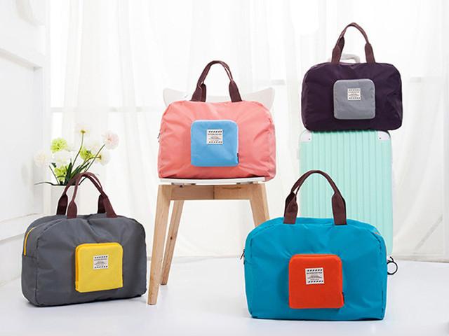阳光猫 手提包 可折叠布艺轻便防水 小巧实用,便捷携带