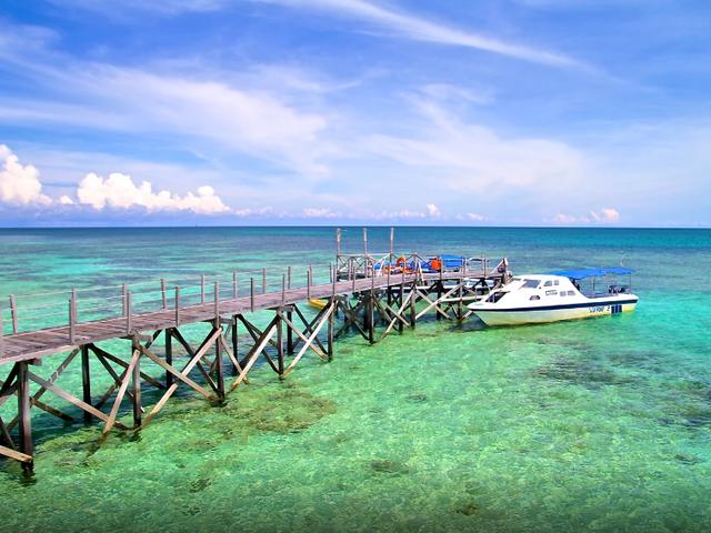 <马来西亚沙巴亚庇 OW和AOW考证潜水证>(豪华双体快艇+海鲜午餐+PADI潜水考证+五星潜店+中文教学)