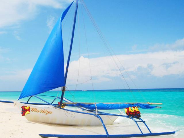 <菲律宾长滩岛一日游浮潜跳岛游>全程导游陪同 自由行出海游 海鲜BBQ