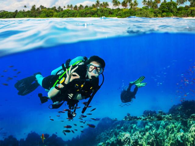 <菲律宾长滩岛潜水体验>中文讲解 免费拍摄 赠送照片