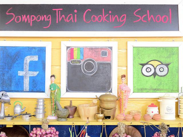 <曼谷 颂蓬(Sompong)烹饪学校课程体验【现场趣味教学 亲临当地市场选购食材丨好玩新发现】>
