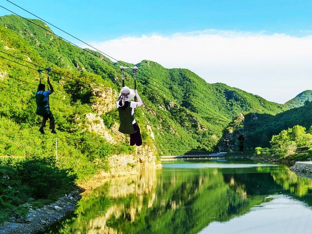 <菲律宾长滩岛自由行丛林飞跃高空滑索空中缆车>中文服务