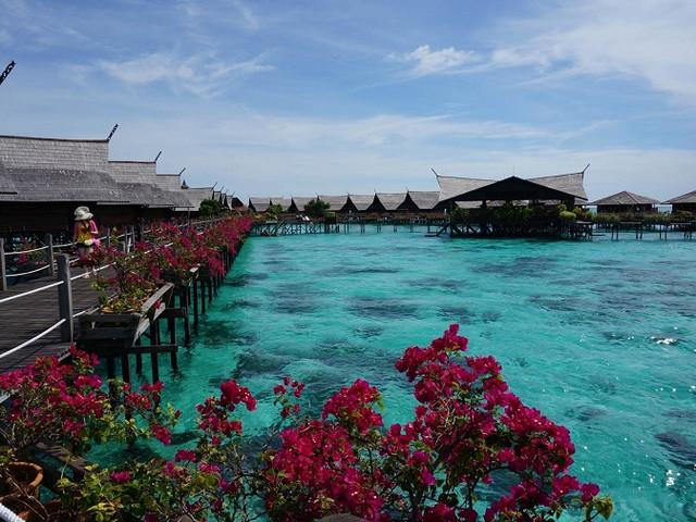 <马来西亚仙本那马布岛+卡帕莱岛一日游>绝美潜水地