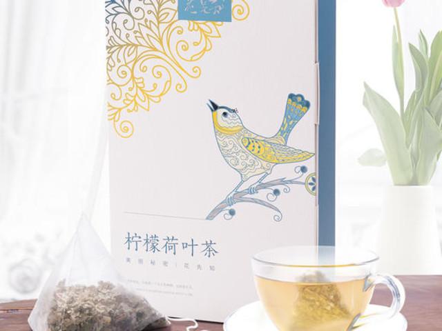 <花先知柠檬荷叶茶(代用茶)36g>