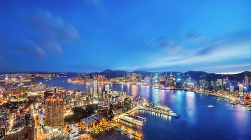香港+港珠澳大桥+澳门+珠