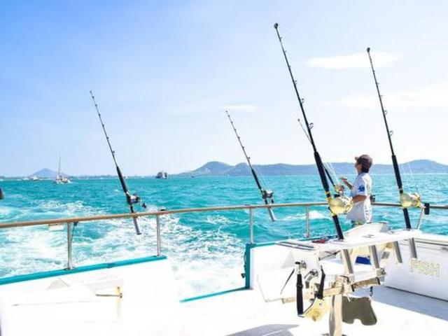 <海釣-皇帝浮潛一日游>海釣+皇帝浮潛與小魚親密接觸純玩一日跟團游