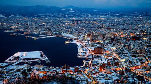 日本北海道5日游游
