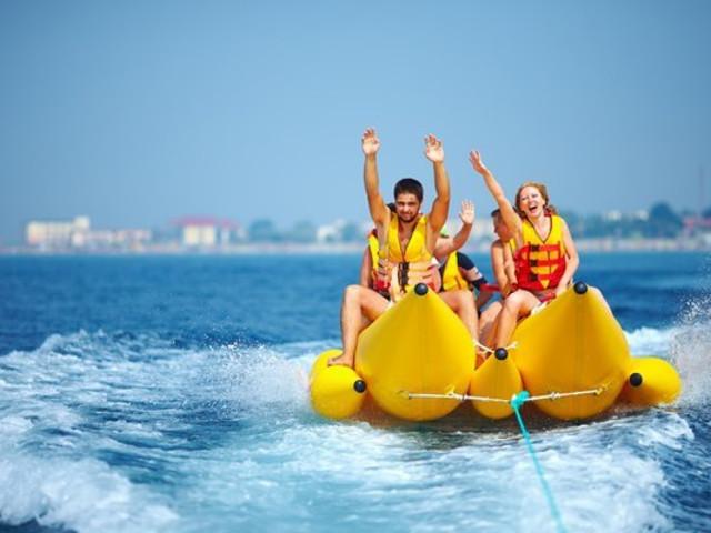 <蓝梦岛快艇一日游>红树林+浮潜+香蕉船+当地村庄游+梦幻沙滩+接送+2人起订