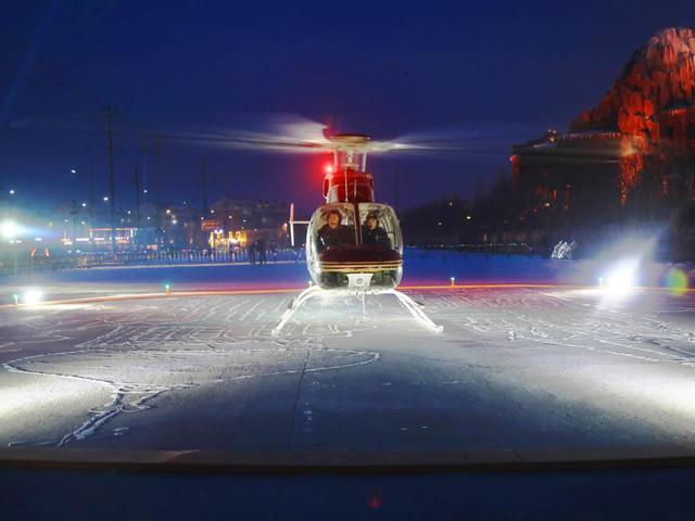 <哈尔滨直升机空中观光>空中观光圣诞节特价体验票,现在预订,12月24日-12月31日,哈尔滨低空飞行体验,空中看冰雪大世界